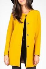 Women's Blazer Yellow Isabel by Rozarancio Sz 12uk