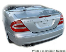 Mercedes-Benz SPOILER CLK Coupé 2002–2005 Diffuser Wings Automotive Parts Rear