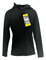 Kirkland Signature Women's Jacket Sz S Wind Protect Fleece Velour Lining Black