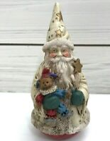 Vintage Midwest of Cannon Falls Christmas Wizard Santa Stars Height 5 inches