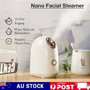 Professional Facial Steamer Nano Ionic Mist Salon Beauty Face Skin Care