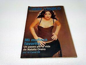 NATALIA OREIRO - MUÑECA BRAVA - SUPER SEXY - VINTAGE COVER MAGAZINE - 2000