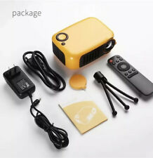Mini Portable Projector ,1080P LCD 50000+hrs Lamp Life,XBOX 1,iPhones And More.