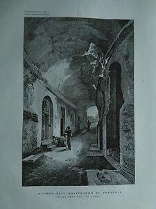 1845 Zuccagni-Orlandini Interno dell'Anfiteatro di Pozzuoli