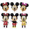 Birthday Mickey Minnie Foil Party Balloon Mouse Balloons Baby Decoration Supplie