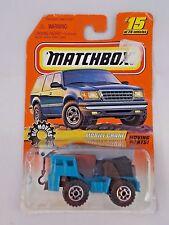 Matchbox #15 Big Movers Mobile Crane 1997