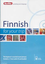 Berlitz Finnish For Your Trip Audio CD *IN STOCK IN MELBOURNE - NEW*