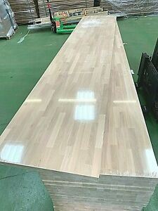 Solid Oak Worktop, Length: 1M 2M 3M 4M, Thick 27mm, 40mm; Cut to Size Available