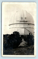 Mt Wilson, CA - EARLY CANDID VIEW OF OBSERVATORY - c1910-1930s PHOTO RPPC