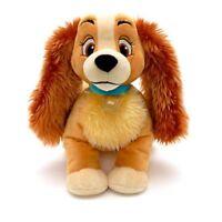 Disney Store Soft Plush LADY Dog LadyTramp Doll-Toy