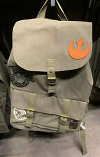 Disneyland Star Wars Galaxy's Edge Resistance Outpost Canvas Backpack LIMITED!