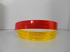 1 Stück 3M Diamond Grade 983-72 rot Scotchlite Tape 55mm x 1m Reflektor Band