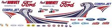 Paul Harvey FORD 2013 MUSTANG COBRA JET NHRA 1/12th Scale Decals