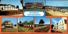 DDR Breitbild-AK Kühlungsborn Kr. Doberan ua. Kleinbahn Molli, Ostsee-Hotel uvm.