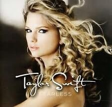 TAYLOR SWIFT-Fearless(2008)-Love Story, You Belong With Me-New AND Sealed