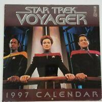 Star Trek Voyager 1997 Calendar Vintage Collectible New Sealed
