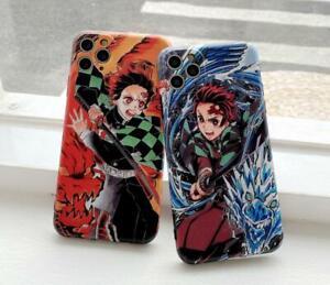 Demon Slayer: Kimetsu no Yaiba Für iPhone 7/8 11 12 X/XS Case Hülle Schutzhülle