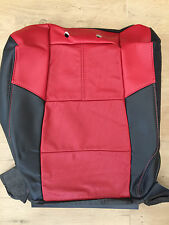 2007 Ford F-250/350 Outlaw Factory Originial REAR Seat Cover (Black/Red Leather)