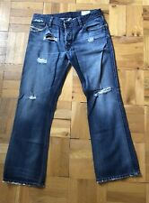 DIESEL JEANS ZAF SIZE 30L 32 W RARE CUT GREAT COLOR AND WASH