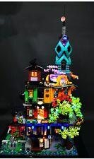 LED Lighting Kit for Lego NINJAGO City Gardens 71741