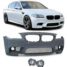 For BMW F10 F11 10-13 5 Series M5 front bumper with fog lights M sport Tech Set