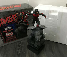 Bowen Designs Daredevil Armored Gargoyle Painted Statue Marvel Comics Sample