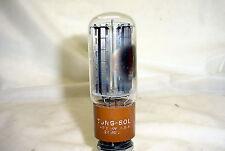 Tung Sol 5R4GYA Tube - black plates, side D getter, tested 100% & balanced