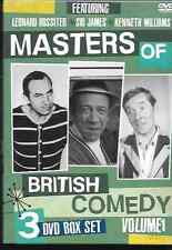 MASTERS OF BRITISH COMEDY VOL 1 GENUINE R0 DVD SID JAMES/LEONARD ROSSITER NEW