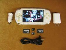 Blanco Psp Ultimate Hack Con Cfw 3500+ Juegos + películas Akira Tomb Raider God Of War