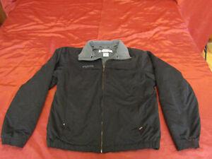 Men's Columbia Fleece Jacket Size Medium Full Zip with Zip Pockets , Very Nice