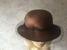 AUTHENTIC VINTAGE BRONZE WEAVE NETTING HAT