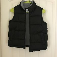 Boys Small (S) Old Navy Sleeveless Puffer Vest Black Excellent Condition