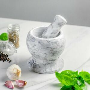 Marble Pestle & Mortar ( Argon Tableware )