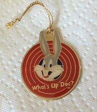 Bugs Bunny What'S Up Doc Gold Plated Ornament 1990 Wbi Pinnacle Design