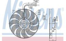 NISSENS Ventilador Para VW TRANSPORTER 85676