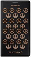 100%  Official Genuine Samsung Galaxy Note 3 Flip Wallet MOSCHINO BLack case