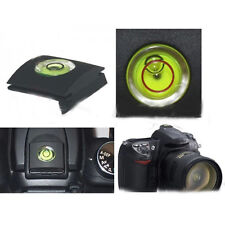 Useful SLR Camera Flashlight Hot Shoe Cover with Spirit Level for Nikon Canon