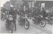 FOTO 1948 RUND UM SCHOTTEN 250CCM LOTTES GABLENZ DAIKER MOTORRAD RENNEN