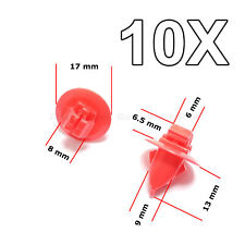 10X Mudguard, Wheel Arch, Wing, Fender, Flare, Moulding clips for Toyota