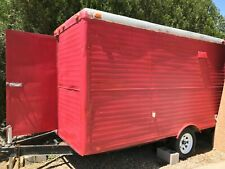 2000-7' x 12' Shaved Ice Concession Trailer, 2011 Kitchen for Sale in New Mexico