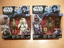 2 X Star Wars Paquetes de lujo Rogue uno 2 figura