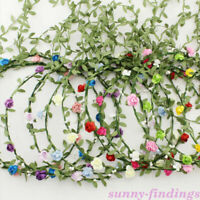 Women Boho Flower Floral Hairband Headband Crown Party Bride Wedding Beach Gift