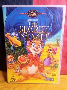 The Secret Of Nimh (DVD, R4, 2004)