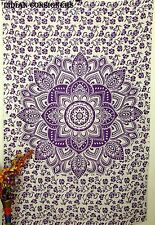 Indian Ombre Bedspread Mandala Twin Hippie Throw Bedding Tapestry Wall Hanging