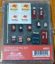 Mobilgas Gas Station Ultimate Detail Set Ho-Scale For Gas Stations & Realism!