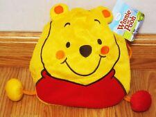 Winnie the Pooh Plush Drawstring Bag Boy Girl Kid Purse Gift Disney #Yellow