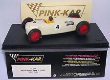 PINK-KAR CV016 AUTO UNION TYPE C  1936  F1 #4  BLANCO  WHITE  LTED.ED. MB