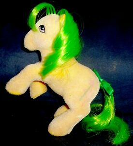 Rose: My Little Pony Vintage So Soft SS Magic Star #3 VERY GOOD rearing pose G1