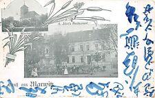 B9565 Czech Republic Gruss aus Marwitz Jden Restaurant