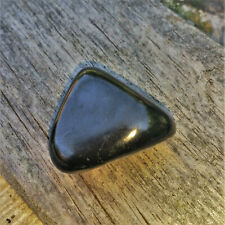 Echter Shungit großer Trommelstein Schungit Karelien Edelsteine Mineralien Nr1